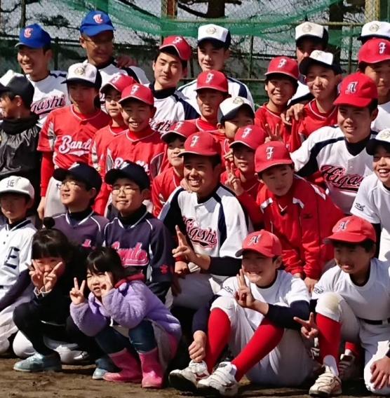 2018.3.4 仙台東野球部による野球教室